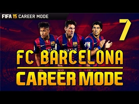 FIFA 15 Career Mode - THESE GOALS GET BETTER AND BETTER! - Barcelona Season 1 Episode 7