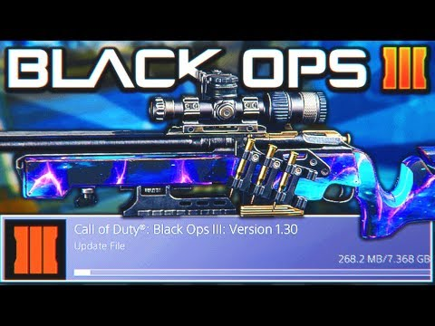 *NEW* BLACK OPS 3 UPDATE 1.30 LIVE NOW! - NEW DLC WEAPONS, OPERATION HEATWAVE, NEW MAPS! (BO3)