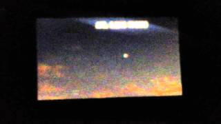 Pulsating  UFO over Queens ,  NY