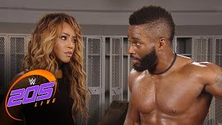 Cedric Alexander breaks up with Alicia Fox: WWE 205 Live, Jan. 10, 2017