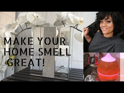 WAYS TO MAKE YOUR HOME SMELL GREAT!