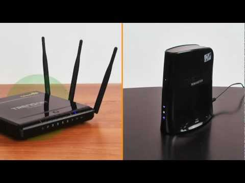 Connecting an Internet TV with Wireless