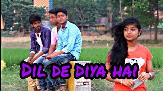 Dil de diya hain || Heart touching song || The crazy Anik || Love song|| sampreet Dutta oporadhi