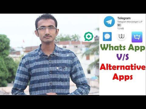 Top Five WhatsApp Alternative Apps    Telegram ,wafer ,signal private messanger