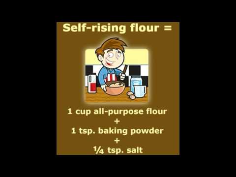 Self rising Flour Vs  All purpose Flour Know the Difference