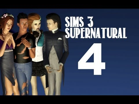 Let's Play: The Sims 3 Supernatural - (Part 4) -Bee Attack w/Commentary
