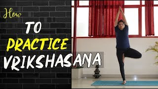 Vrikshasana || Tree Posture || Yoga for beginners
