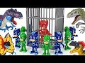 Owlette Was Caught By Dinosaurs PJ Masks Mirror Attack Go DuDuPopTOY