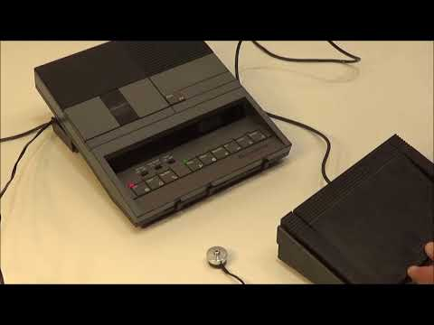 Dictaphone 3710 Desktop Voice Processor by Pitney Bowes Made in Japan