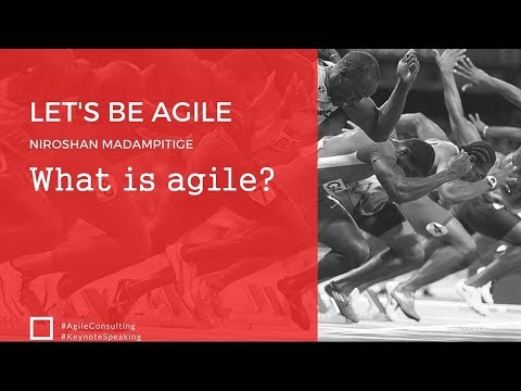 Keynote#What is agile?