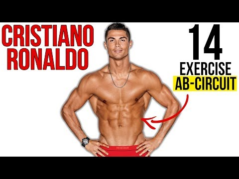 Cristiano Ronaldo's Six Pack Abs Workout Routine (NO EQUIPMENT!)