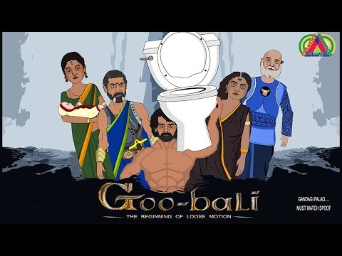 Bahubali Spoof    Prabhas, Rana Daggubati, Anushka,Tamannaah    Creative Cartoon Animation