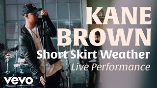 Short Skirt Weather (Official Live Performance)   Vevo x Kane Brown