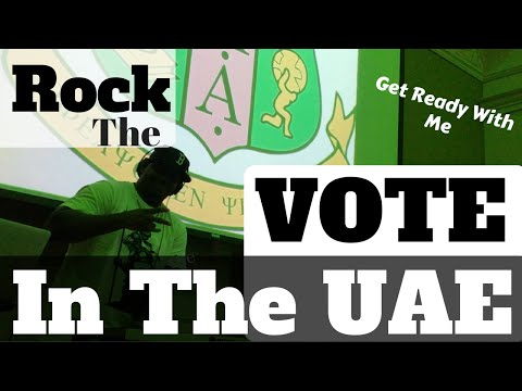 Get Ready With Me - Rock The Vote In The UAE