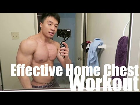 Effective home CHEST workout that works! | How to get a bigger chest at home