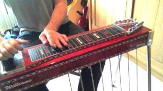 Any Old Time Pedal Steel Solo Cover