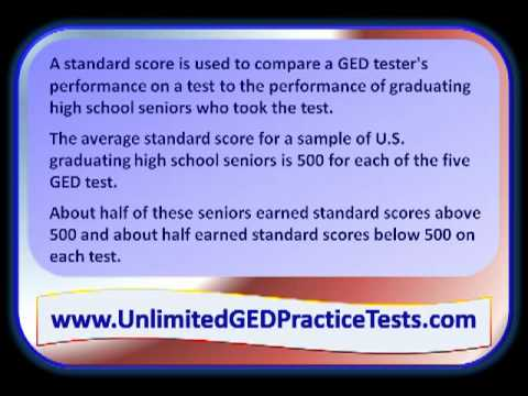 How Are GED Test Scores Reported