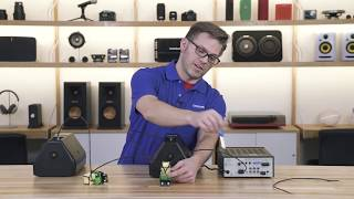 How to wire commercial speakers in parallel   Crutchfield video