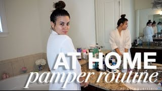 At Home Pamper Routine | Nicole Guerriero