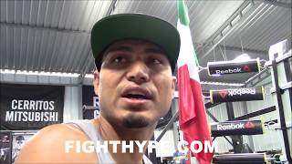 MIKEY GARCIA SENDS A MESSAGE TO VASYL LOMACHENKO; TELLS HIM WHAT TO DO IF HE WANTS A BIG FIGHT