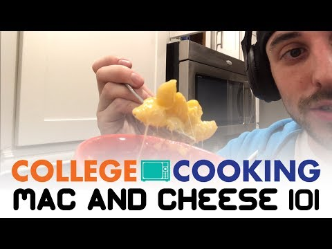 How to Cook Mac and Cheese in the Microwave - College Cooking | CollegeXpress