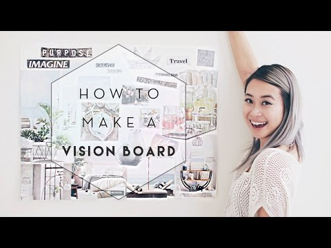 How to Make a Vision Board + Current Me vs Future Me | GIVEAWAY