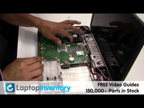 Toshiba Satellite C650 Motherboard Replacement Guide - Install Fix Replace L675 C660 L670 L675