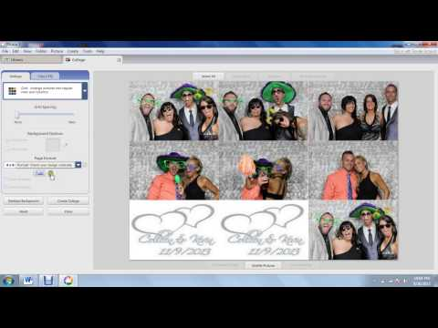 Printing Photo Strips in Picasa