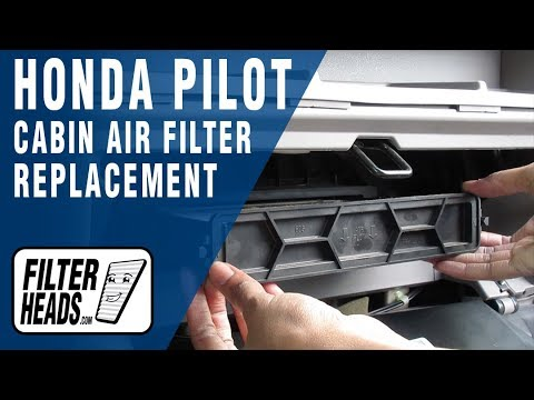How to Replace Cabin Air Filter Honda Pilot