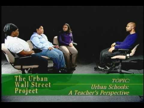 Urban Schools - A Teacher's Perspective