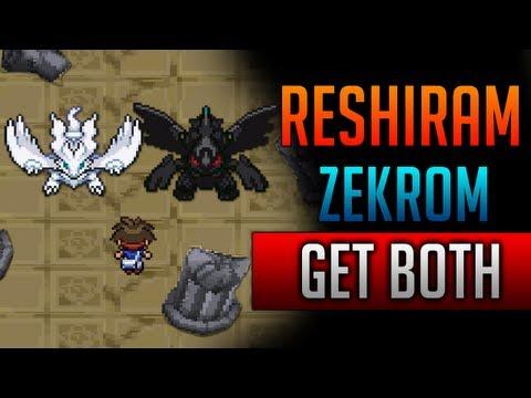 How & Where to catch/get - Reshiram & Zekrom BOTH in Pokemon Black 2 and Pokemon White 2
