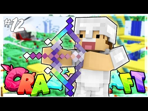 CREATING THE ULTIMATE BOW!   EP 12   Crazy Craft 3.0 (Minecraft Youtuber Server)