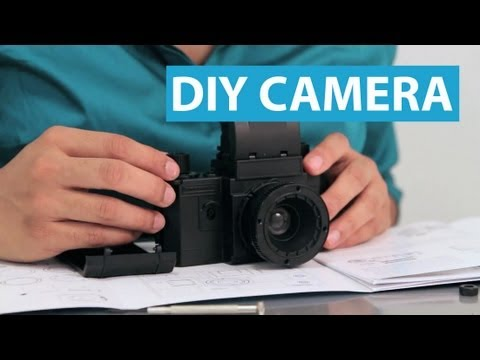 Build Your Own SLR Camera With This DIY Kit