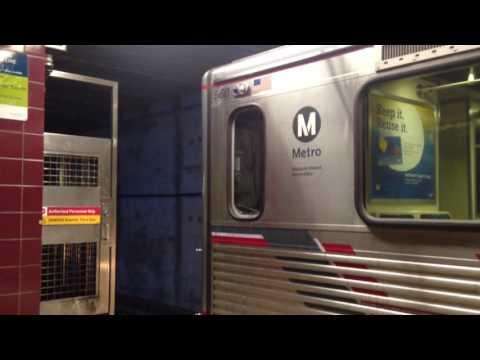 Metro Rail in Los Angeles