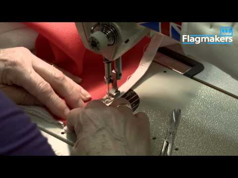 How Flagmakers manufacture a Canadian national flag from scratch