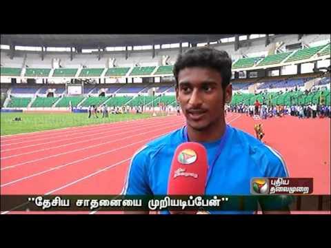 Tamil Nadu Long jump champion Prem kumar