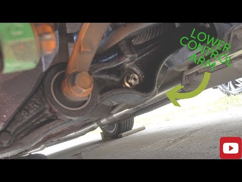 How To Replace Lower Control Arm 1998 to 2002 Accord
