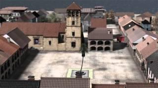 Recreación plaza mayor Panamá viejo