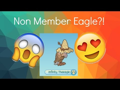 How To Be A Non Member Eagle (Working 2016) | Animal Jam