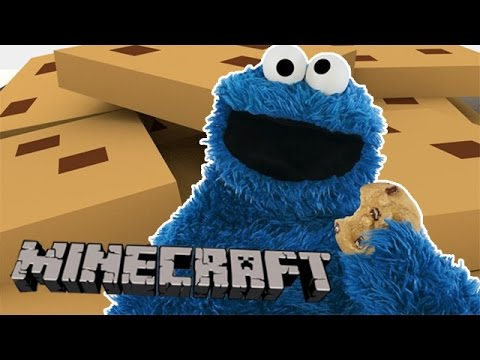 If Cookie Monster Played Minecraft