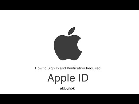 How to Sign in Apple ID and skip Verification Required