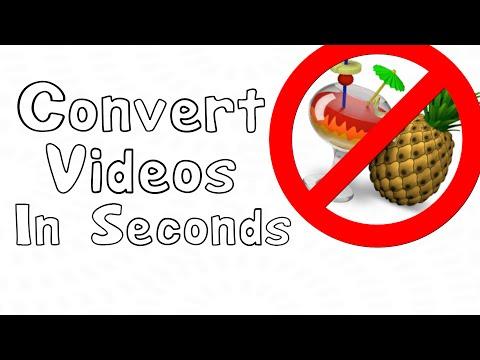 Convert Videos in Seconds [mkv/flv to mp4/avi]