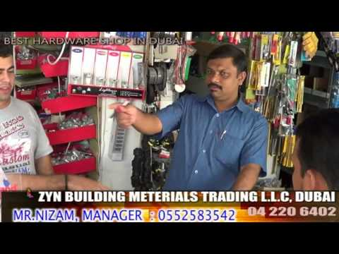 Building Materials in Dubai, Mr.Nizam Shop, Zyn trading LLC, Branded Building Products