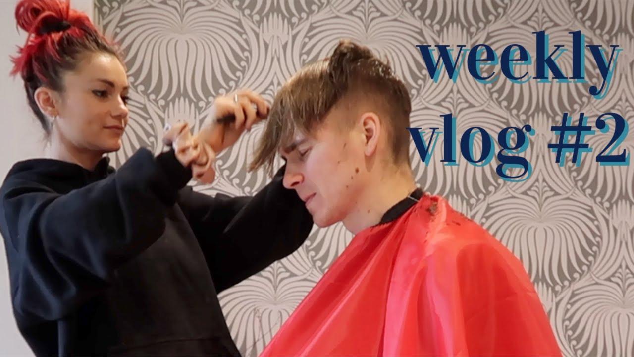 house warming gifts,painting walls and giving joe a haircut