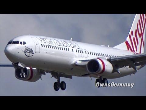 New Virgin Australia Boeing 737 VH-YFX Customer Test Flight Before Delivery