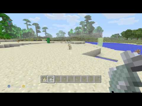 Minecraft Xbox 360 TU12 - How To Tame/Breed/Use Ocelots