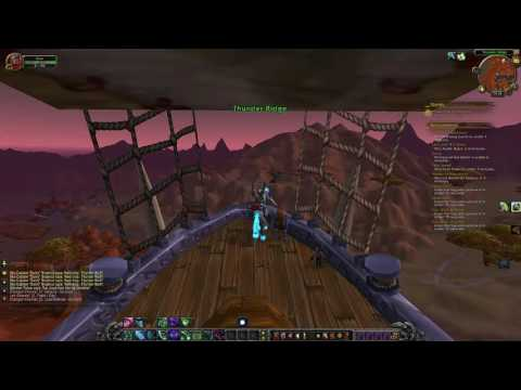 How to get from Ogrimmar to Thunder Bluff (Zeppelin)