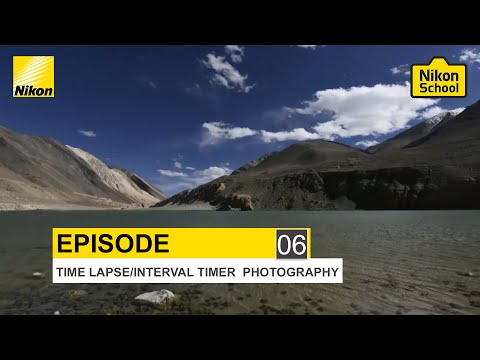 New Nikon School D-SLR Tutorials - Time Lapse/Interval Timer - Episode 6