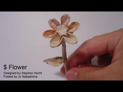 Origami $Flower (Stephen Hecht)