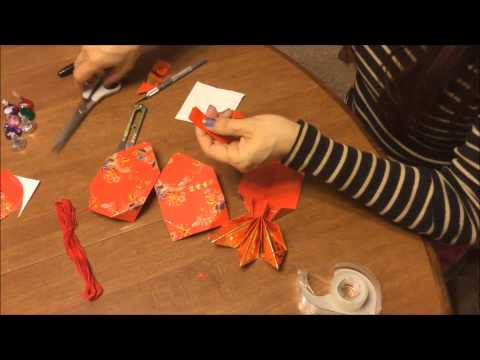 How to make a goldfish for Chinese New Year out of Red Packets. Ver 2.0